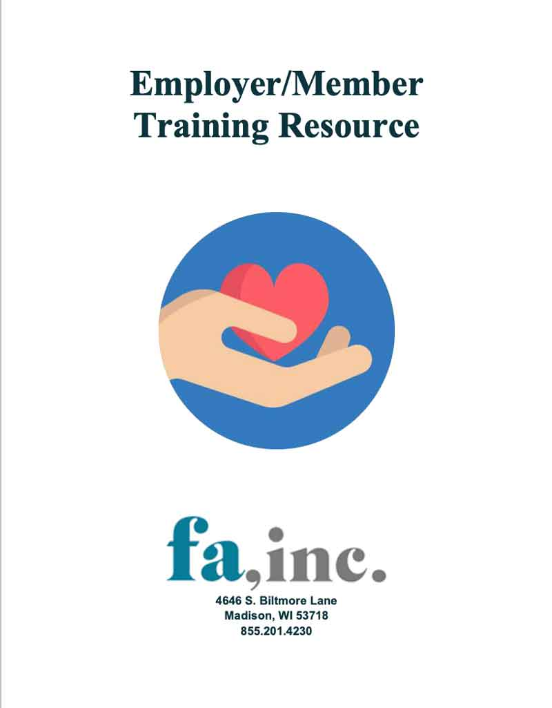 Employer/Member Training Resource