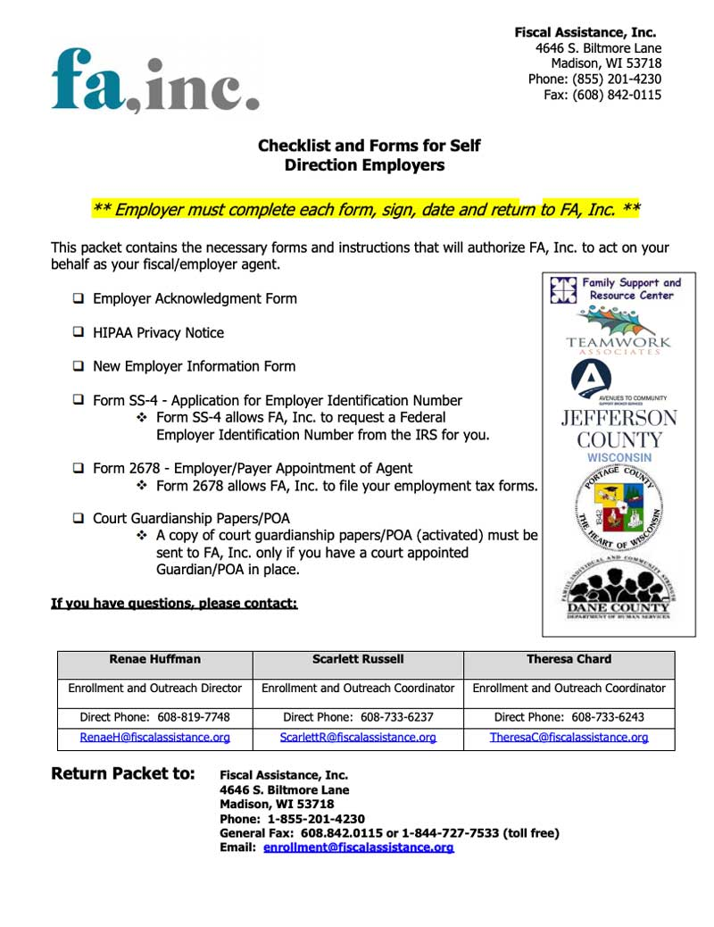 Children/CLTS form